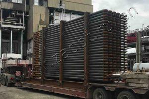 Steam-gas mixture heater for Sibmetakhim
