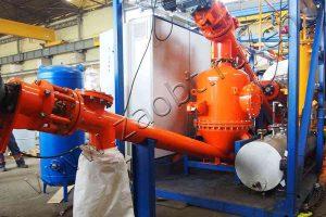 Continuous pyrolysis plant TDP-2-200