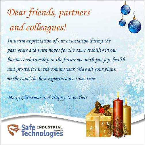 Merry Christmas and a Happy New Year 2018!