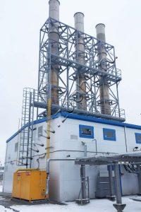 Комплекс утилизации водометанольной смеси на НОВАТЭК-Пуровский ЗПК